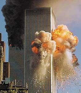 """A destruição das """"torres gémeas"""", em Nova Iorque, tornaram-se em verdadeiros icones da djihad islâmica (guerra santa) dos  tempos modernos."""