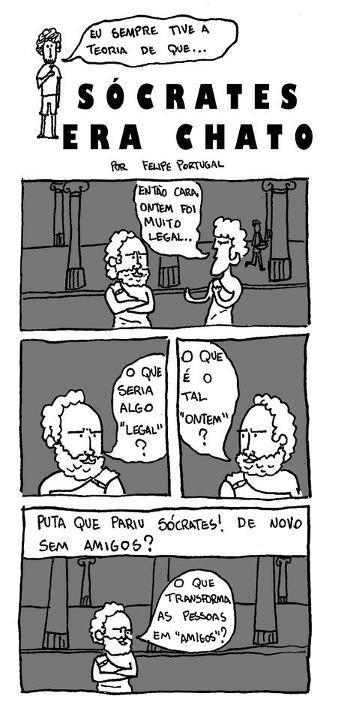 Sócrates era um chato?